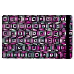 Classic Blocks,pink Combo Apple Ipad Pro 9 7   Flip Case by MoreColorsinLife