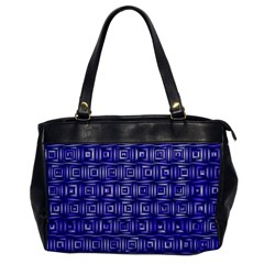 Classic Blocks,blue Office Handbags by MoreColorsinLife
