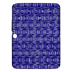 Classic Blocks,blue Samsung Galaxy Tab 3 (10 1 ) P5200 Hardshell Case  by MoreColorsinLife