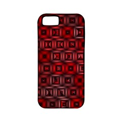 Classic Blocks,red Apple Iphone 5 Classic Hardshell Case (pc+silicone) by MoreColorsinLife