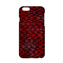 Classic Blocks,red Apple Iphone 6/6s Hardshell Case by MoreColorsinLife
