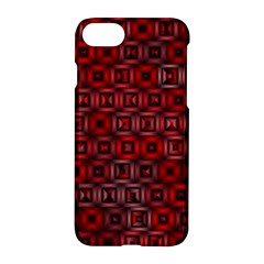 Classic Blocks,red Apple Iphone 8 Hardshell Case by MoreColorsinLife