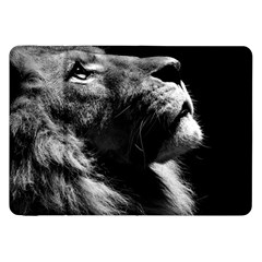 Male Lion Face Samsung Galaxy Tab 8 9  P7300 Flip Case by Celenk