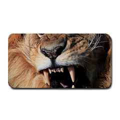Male Lion Angry Medium Bar Mats by Celenk