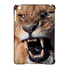Male Lion Angry Apple Ipad Mini Hardshell Case (compatible With Smart Cover) by Celenk