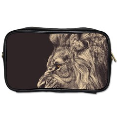 Angry Male Lion Toiletries Bags by Celenk