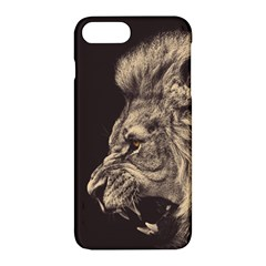 Angry Male Lion Apple Iphone 7 Plus Hardshell Case