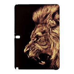 Angry Male Lion Gold Samsung Galaxy Tab Pro 12 2 Hardshell Case