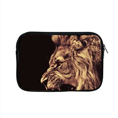 Angry Male Lion Gold Apple Macbook Pro 15  Zipper Case