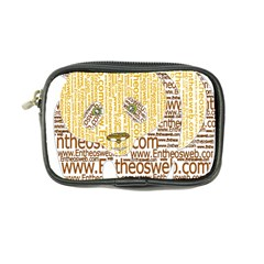 Panda Typography Coin Purse
