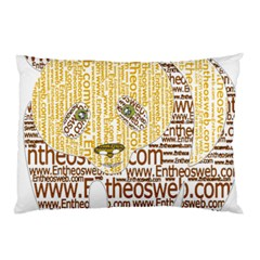 Panda Typography Pillow Case (two Sides)