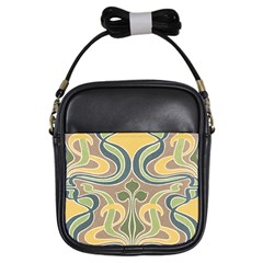Art Floral Girls Sling Bags by 8fugoso