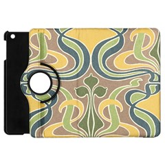 Art Floral Apple Ipad Mini Flip 360 Case by 8fugoso