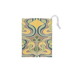 Art Floral Drawstring Pouches (xs)  by 8fugoso