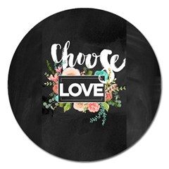 Love Magnet 5  (round) by 8fugoso
