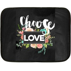 Love Fleece Blanket (mini) by 8fugoso