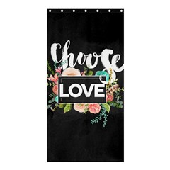 Love Shower Curtain 36  X 72  (stall)  by 8fugoso
