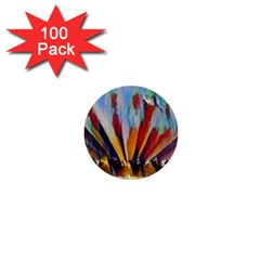 3abstractionism 1  Mini Buttons (100 Pack)  by 8fugoso