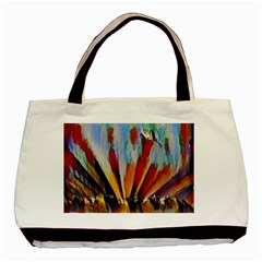 3abstractionism Basic Tote Bag (two Sides) by 8fugoso