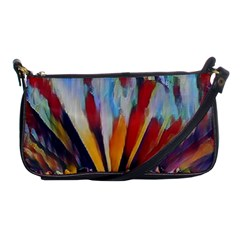 3abstractionism Shoulder Clutch Bags by 8fugoso