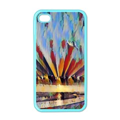 3abstractionism Apple Iphone 4 Case (color) by 8fugoso