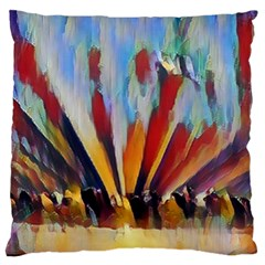 3abstractionism Large Cushion Case (one Side) by 8fugoso