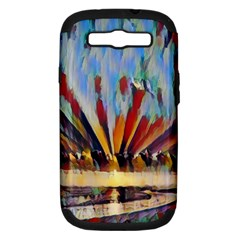 3abstractionism Samsung Galaxy S Iii Hardshell Case (pc+silicone) by 8fugoso