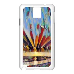 3abstractionism Samsung Galaxy Note 3 N9005 Case (white) by 8fugoso