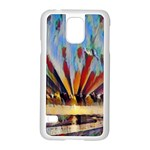 3abstractionism Samsung Galaxy S5 Case (White) Front