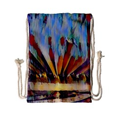 3abstractionism Drawstring Bag (small) by 8fugoso