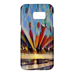 3abstractionism Samsung Galaxy S7 Hardshell Case  by 8fugoso
