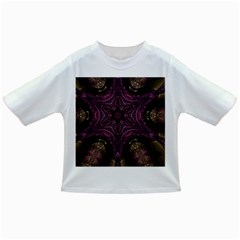 Pink Purple Kaleidoscopic Design Infant/toddler T Shirts by yoursparklingshop