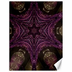Pink Purple Kaleidoscopic Design Canvas 12  X 16   by yoursparklingshop