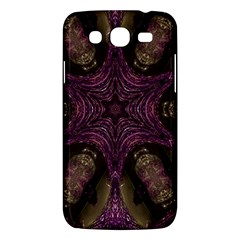 Pink Purple Kaleidoscopic Design Samsung Galaxy Mega 5 8 I9152 Hardshell Case  by yoursparklingshop