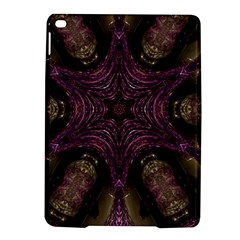 Pink Purple Kaleidoscopic Design Ipad Air 2 Hardshell Cases by yoursparklingshop