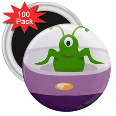 Ufo 3  Magnets (100 Pack)