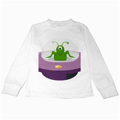 Ufo Kids Long Sleeve T Shirts