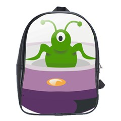 Ufo School Bag (large) by Celenk
