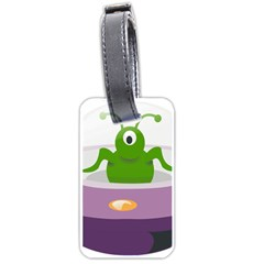 Ufo Luggage Tags (one Side)