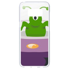 Ufo Samsung Galaxy S8 White Seamless Case