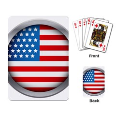 United Of America Usa Flag Playing Card by Celenk