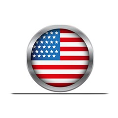 United Of America Usa Flag Plate Mats by Celenk