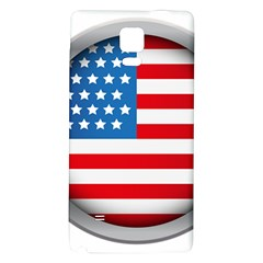 United Of America Usa Flag Galaxy Note 4 Back Case by Celenk