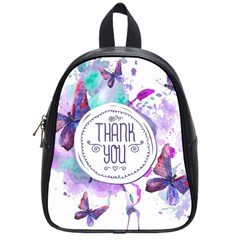 Thank You School Bag (small) by Celenk