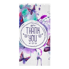 Thank You Shower Curtain 36  X 72  (stall)  by Celenk