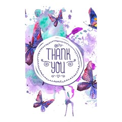 Thank You Shower Curtain 48  X 72  (small)  by Celenk