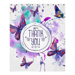 Thank You Shower Curtain 60  X 72  (medium)  by Celenk