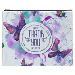 Thank You Cosmetic Bag (xxxl)  by Celenk