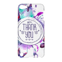 Thank You Apple Ipod Touch 5 Hardshell Case by Celenk