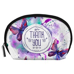 Thank You Accessory Pouches (large)  by Celenk